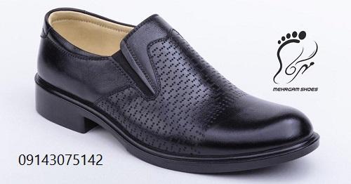 کفش مردانه مجلسی چرم