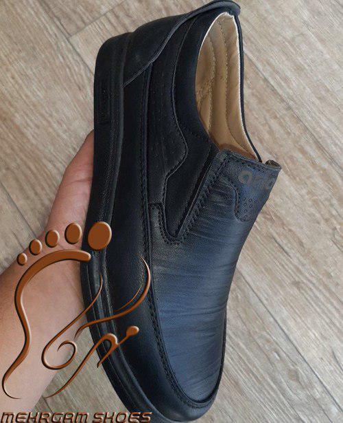 کفش طبی راحتی مردانه چرم