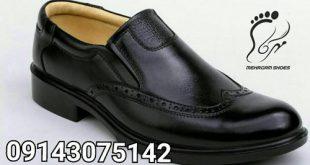 خرید عمده کفش چرم مردانه اصل از تولیدی