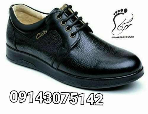انواع مدل های کفش چرم مردانه مهرگام: